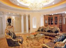 Дизайн квартири з використанням ліпнини з гіпсу