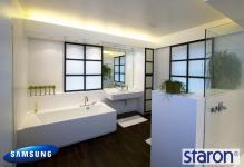 Ванна кімната з каменю Samsung Staron
